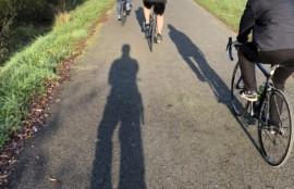寒いサイクリング-あしたばデンタルクリニック公式サイト院長ブログ